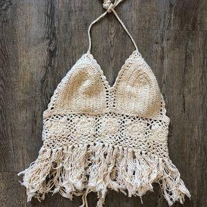 TUA crochet top